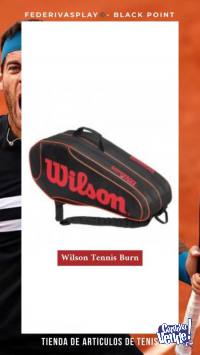 Raquetero Tenis Wilson Burn 2 Comp