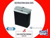 Destructora trituradora de documentos papel DASA 2205 Córdo