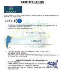 Amonio Cuaternario Rinde 100 A 200 Litros Desinfectante