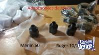 adaptador de rosca ruger 10/22 y marlin 60