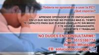 CAPACITACIÓN OPERADOR DE PC