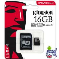 MEMORIA MICRO SD KINGSTON 16GB CLASE 10 EN BLISTER *LOCAL*