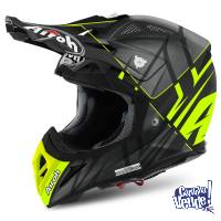 Casco Cross / Enduro Airoh Aviator 2.2 2018 Carbon Kevlar