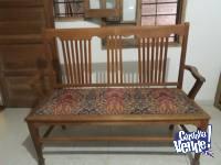 Vendo sillon antiguo de roble americano