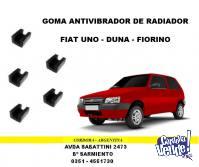 SOPORTE ANTIVIBRADOR RADIADOR FIAT DUNA - UNO - FIORINO
