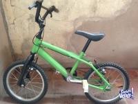 Bicicleta rodado 14, excelente estado