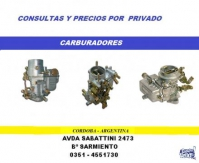 CARBURADORES Y DISTRIBUIDORES