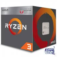 Procesador AMD Ryzen 3 2200G, 4 Núcleos, Gráficos Vega 8