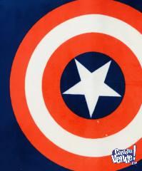 Alfombra Capitan America Oulet 40 x 60
