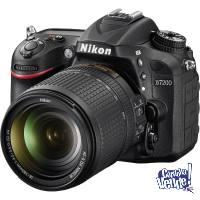 Nikon D7200 + Lente 18-140mm VR + SD 16 GB