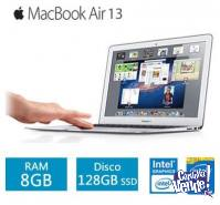 MACBOOK AIR MQD32LL MQD42LL ! COREI5 128GB Y 256GB 12 PAGOS