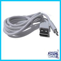 Cable Datos Carga Micro Usb (v8) Only Blanco 2.0a