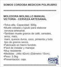 MOLEDORA MOLINILLO MANUAL VICTORIA - CERVEZA ARTESANAL