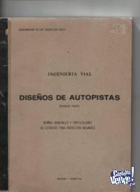 DISEÑO DE AUTOPISTAS E.Asuncion Baez parte 1ª   $ 350