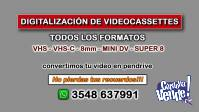 Digitalización de videocassettes y peliculas super 8 y 16mm