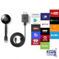 GOOGLE CHROMECAST TV 2 HACE SMART TU TV! ORIGINALES