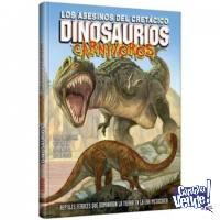 Libro Dinosaurios Carnívoros Los Asesinos Del Cretácico