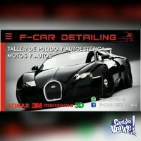 Taller de Estetica Vehicular F-Car Detailing