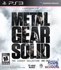 Metal Gear Solid The Legacy Collection ORIGINAL, FISICO