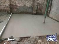 se hacen contrapisos,carpetas,arreglos y reparaciones de hum