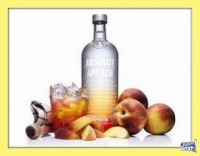 ABSOLUT APEACH - VODKA - (750 ML)