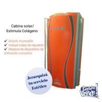 "Cabina Solar Colageno 52 tubos ""UNICA"""