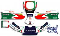 Kit Calcos Karting Corolla Wrc Laminado 3m Estandar