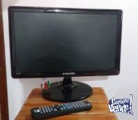 Tv Hd Y Monitor Samsung 19 Pulgadas c/Control Remoto