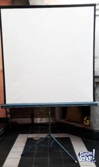 Pantalla de 100 pulgadas con tripode Importada ( usada )