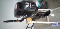motor de bote parsun 9.8 hp 4t  impecable estado .como nuevo .potencia increible. y muy bajo consumo