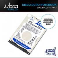 Disco Rigido 2.5¨ Notebook Netbook 500gb Sata2 Nuevo Centro