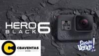 GOPRO HERO 6 BLACK EDITION!! NUEVAS, GARANTIA, CENTRO!!