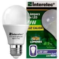 LAMPARA LED 9W X 10 UNIDADES