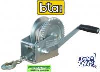 MALACATE MANUAL DE ARRASTRE BTA 725 KG. CON CABLE DE ACERO