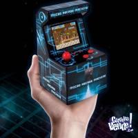 Consola Micro Fichines Arcade Retro Kanji 200 Juegos Niño