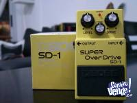 Boss SD-1 Super OverDrive impecable!!