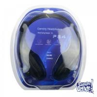 Auriculares gamer Para Ps4 playstation4 xbox one pc tablet