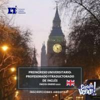 PREINGRESO UNIVERSITARIO INGLES Facultad de Lenguas Online