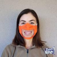 Tapaboca Barbijo Inclusivo Transparente