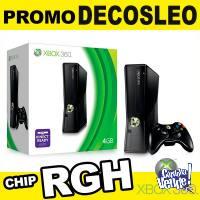 Xbox 360 Dual Chip Rgh 500gb C/30 juegos Promo Decosleo
