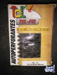 TORNILLOS AUTOPERFORANTES  TEL FIX 10 X 2N (5 X 50MM)