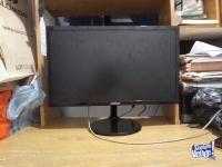 """Monitor Samsung 22"""" S22F350FHL (PANTALLA-DISPLAY ROTO) PARA REPUESTOS"""