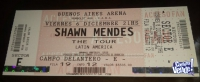 Entrada Shaw Mendes 6/11 21hs BS As