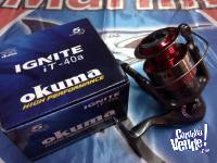 Reel Okuma Frontal Ignite 40a Nuevo 5 Rulemanes