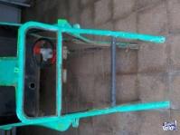 chasis arenero para terminar de armar con accesorios