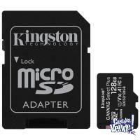 Memoria MicroSDHC Kingston Canvas Select Plus 128GB Clase 10