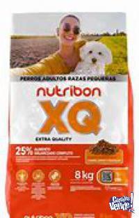 Nutribon XQ adultos razas pequeñas x 8kg $1950