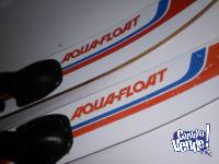 Esquíes acuáticos Aqua-Float - Liquido por viaje!