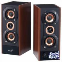 PARLANTES GENIUS SP-HF800A WOOD 220V