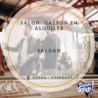 GALPON - SALON EN ALQUILER